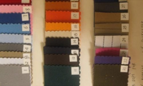 Fabric Color Approval Procedure