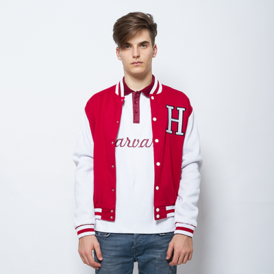 Varsity Jacket With Embroidery